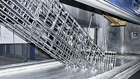 Hot-dip galvanized products